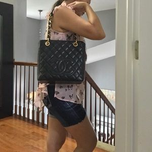 CHANEL Bags - ⚠️SOLD ⚠️Chanel PST (Petite Shopping Tote)